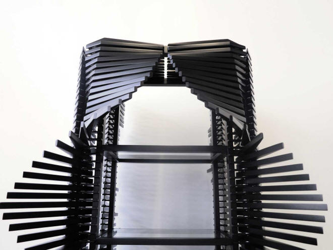 The Samurai Cabinet by Sebastian Errazuriz