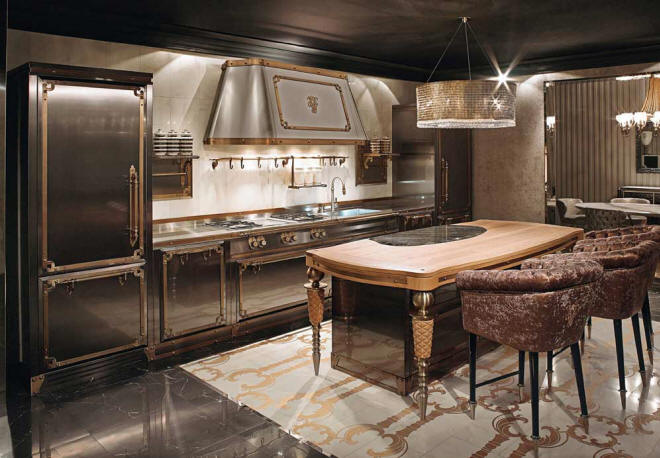 Victorian Kitchen by Alessandro La Spada for Visionnaire