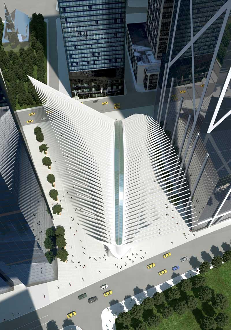 World Trade Center Transportation Hub by Santiago ...