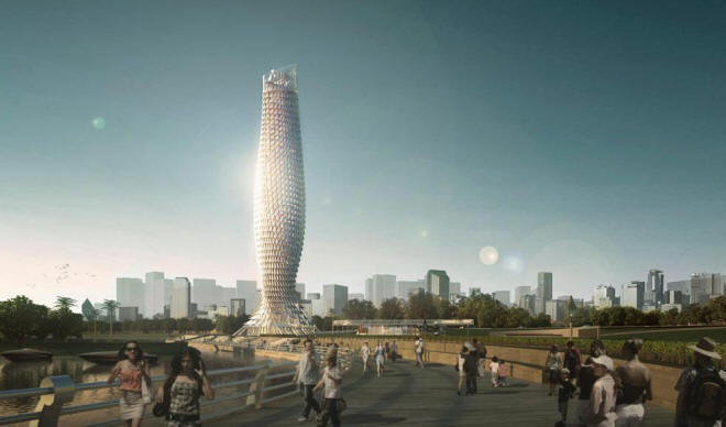 Zhuhai Observation Tower by RMJM Architecture