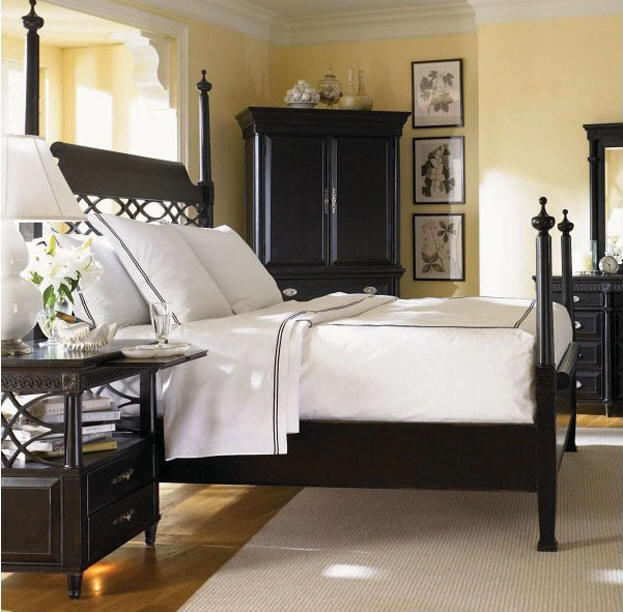 Wood products design furnishings for Black bedroom suite