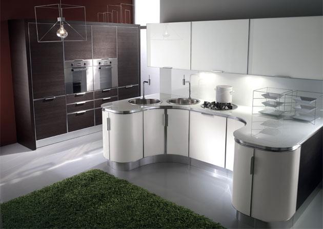 Küche Weiß Braune Arbeitsplatte ~ NoVeriC.coM for .
