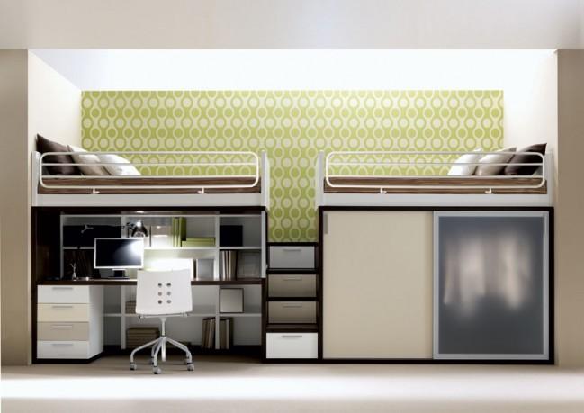 Wood - Furniture.biz | Products | Bunk Beds | Doimo City Line