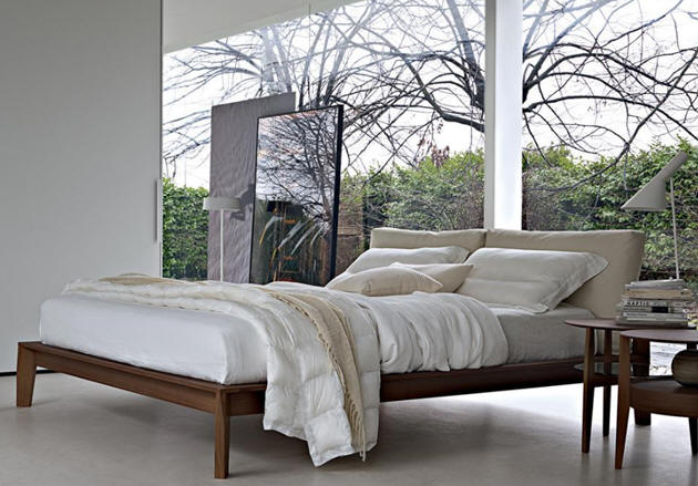 Wood products bedrooms molteni for Molteni furniture