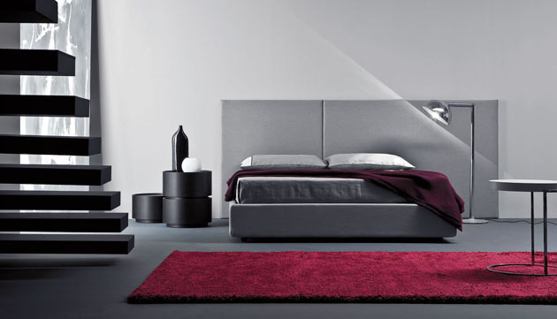 Wood products bedroom furniture for Pareti colorate moderne