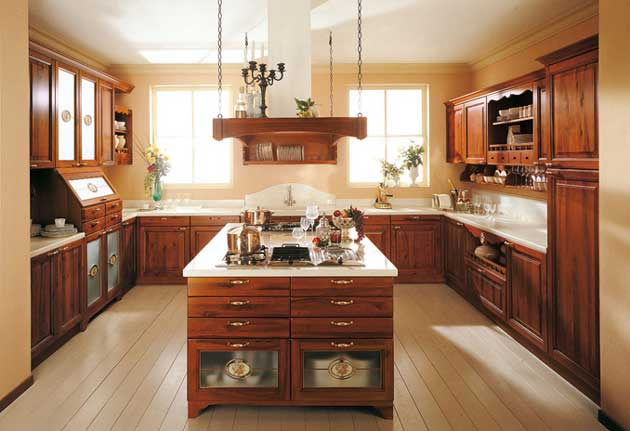 Wood products kitchen furniture - Cucine piramide ...