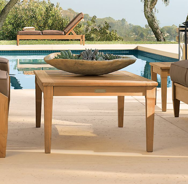 Wood Products Outdoor Furniture Restoration Hardware Santa Monica Collection