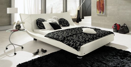 wood - furniture.biz | products | bedrooms | ruf-betten | cocoon bed, Hause deko