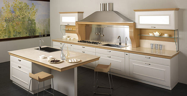 luxury kitchen decoration