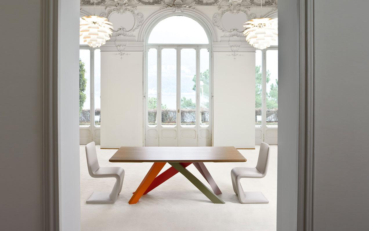 Wood - Furniture.biz | Big Table, design: Alain Gilles
