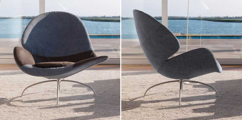 Wood - Furniture.biz | Photos | Cloè Chair - Harmoniously asymmetric