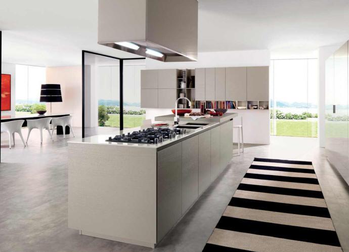 Wood photos modular kitchens elegant for Linear kitchen design
