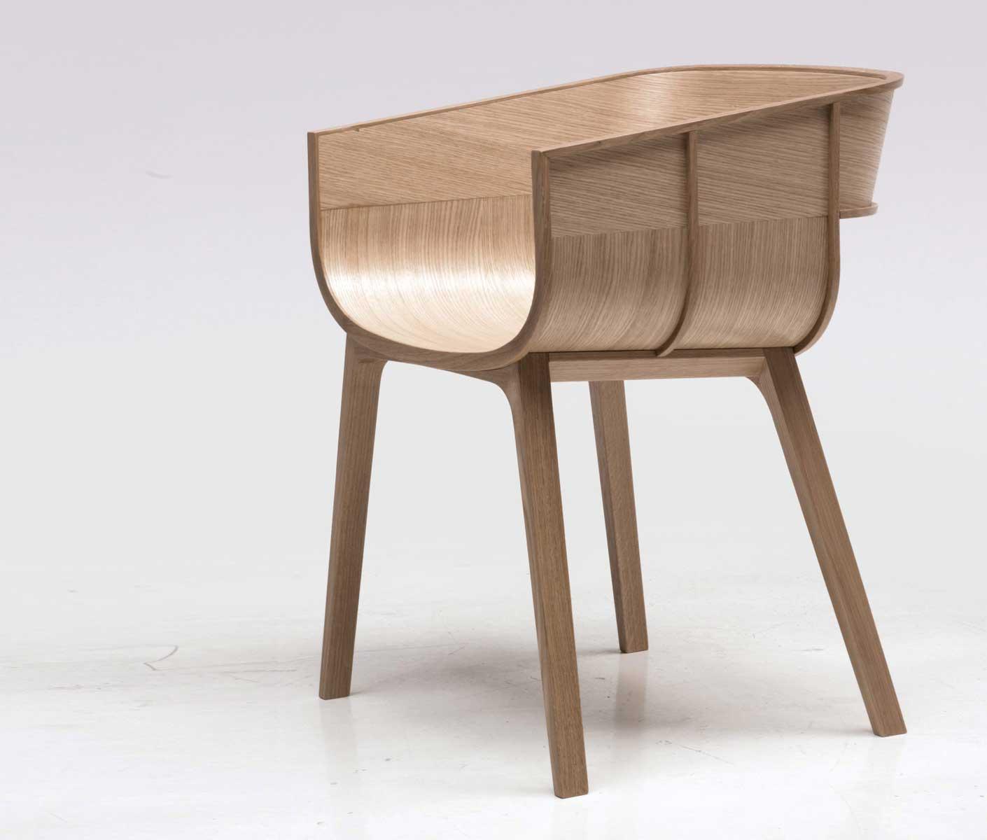 Wood  Furniturebiz  Maritime Chair by Benjamin Hubert