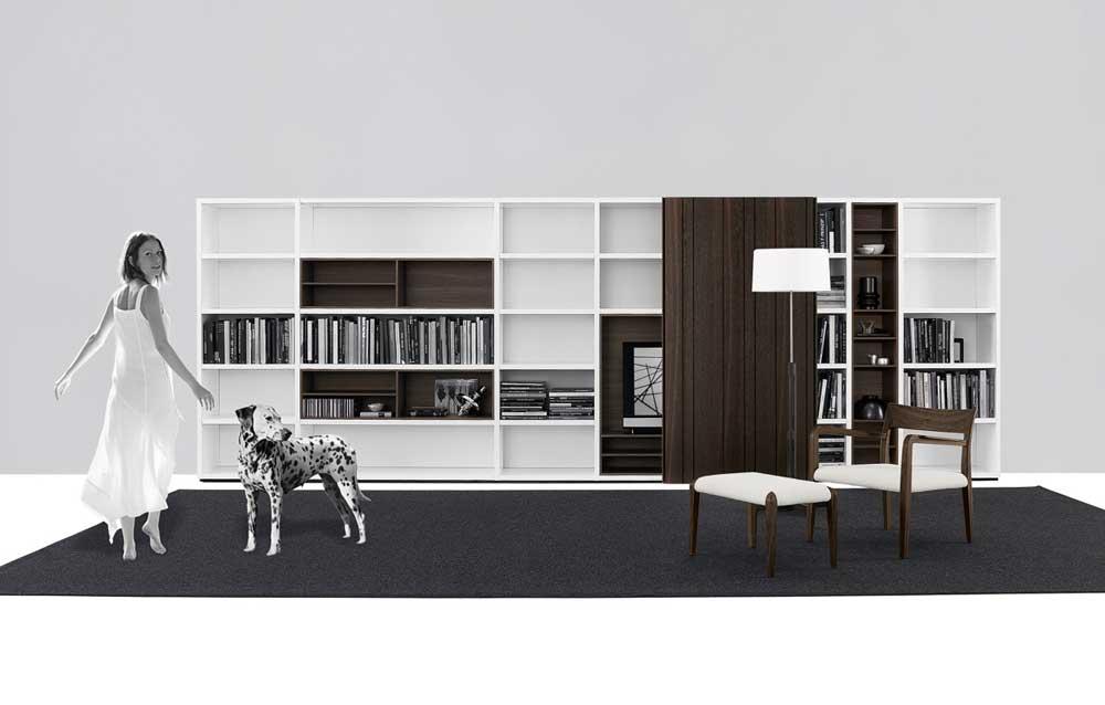 Wood - Furniture.biz | Photos | Wall System CR&S Poliform